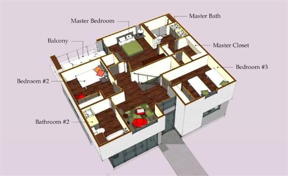 casas modernas planos. Planos de casas modernas