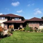 Casa tradicional para terrenos grandes