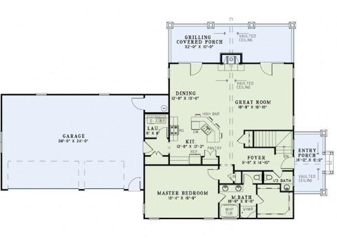 plano de casas country