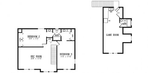 plano de casa de granja familiar