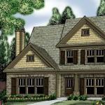 Plano de casa tradicional familiar grande