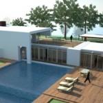 Planos de casa ecologica y minimalista