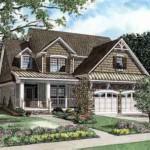 Plano de casa familiar con 3 habitaciones