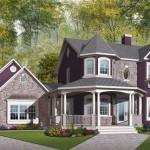 Plano de casa Victoriana de 3 habitaciones