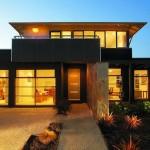Plano de casa moderna contemporanea